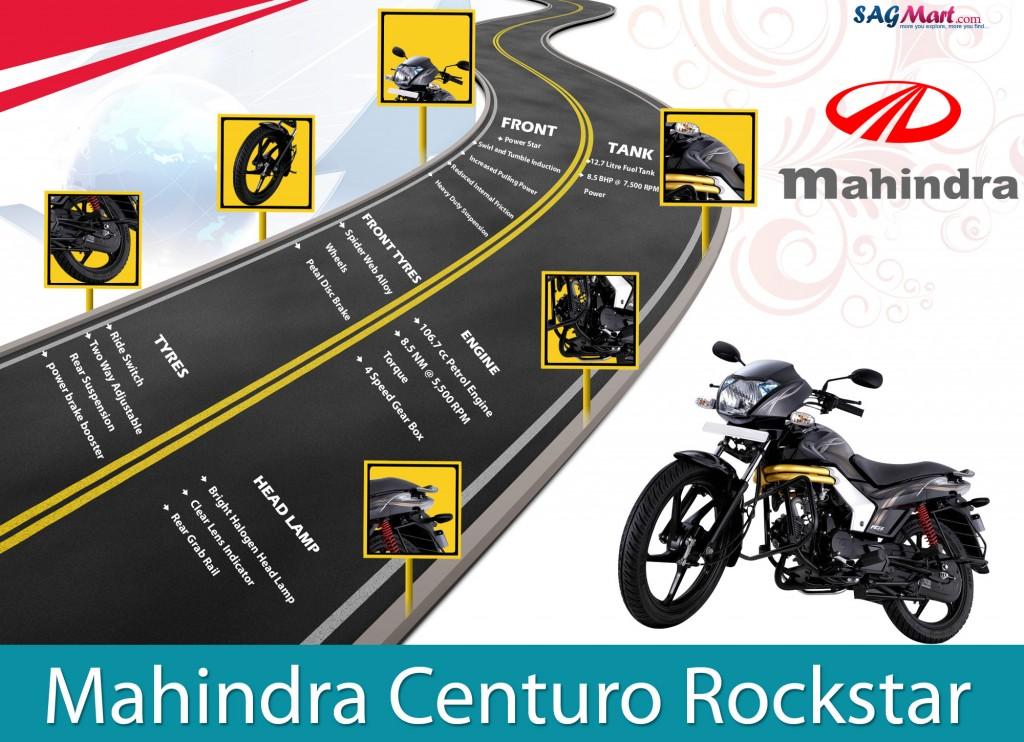 Mahindra Centuro Rockstar Bike