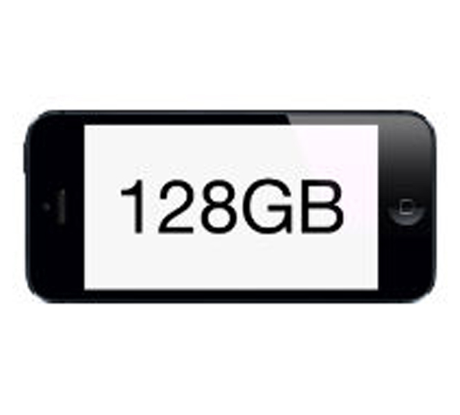 iPhone 6 128GB storage