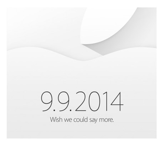 Apple September 9 Event Invite