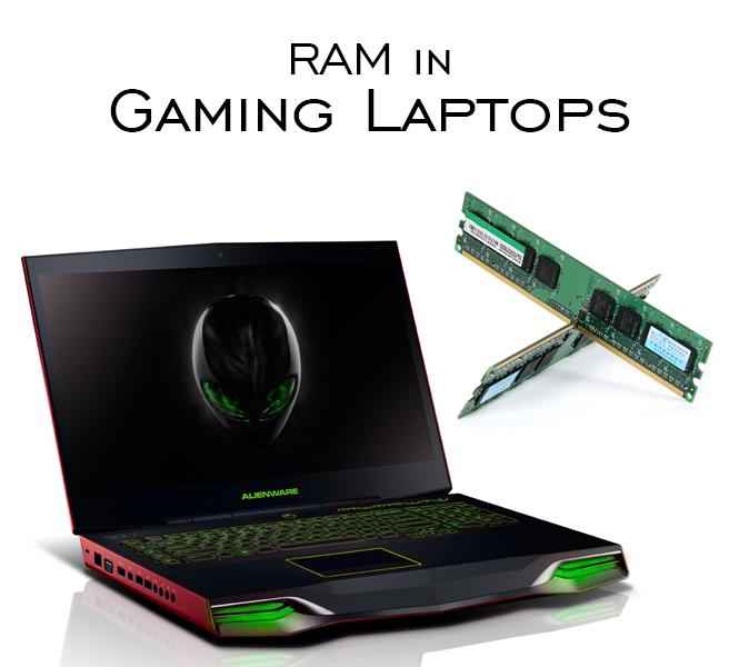 ram in gaming laptop