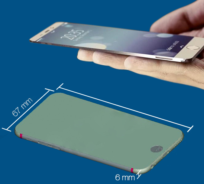 iPhone 6 Sleek and Thin Design