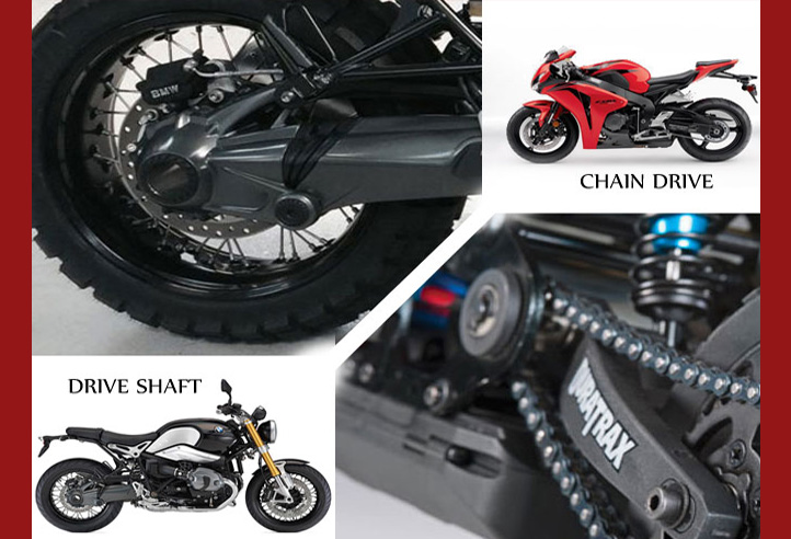 Chain Drive VS Drive Shaft