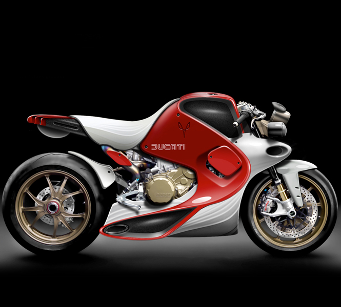 Ducati 1190 Panigale as a Coffee-Fighter