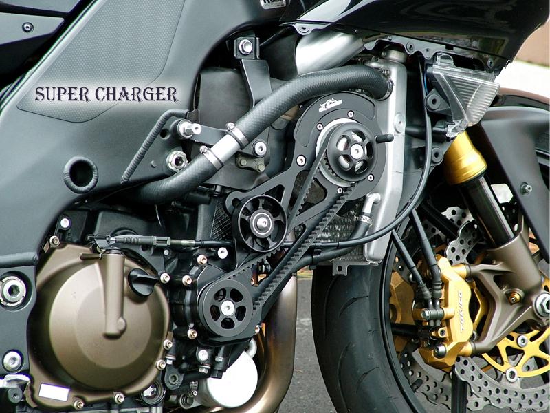Supercharged Motorbike-4