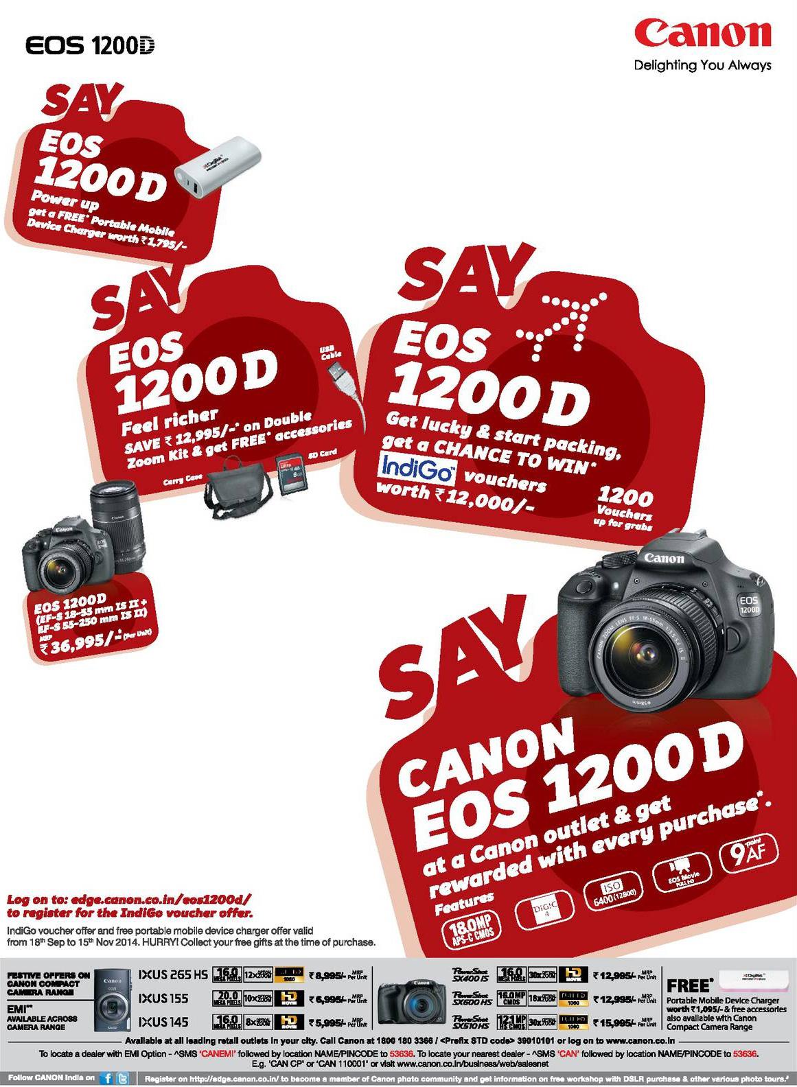 canon festive offer 2014