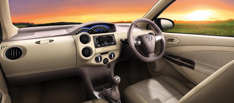 Toyota Etios Liva Facelift Interiors
