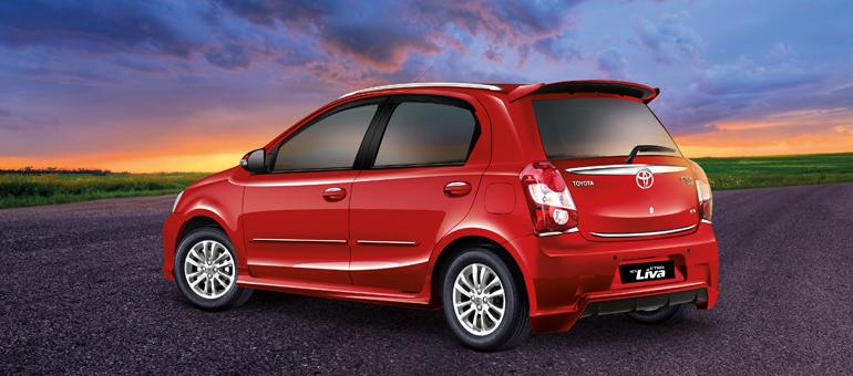 Toyota Etios Liva Facelift Rear