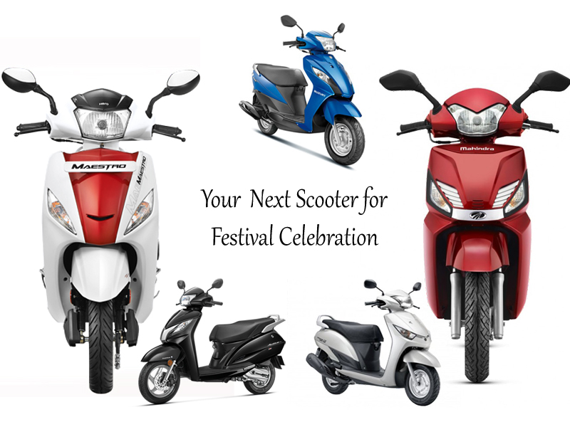 Top Five Scooters to Buy During Festival Season
