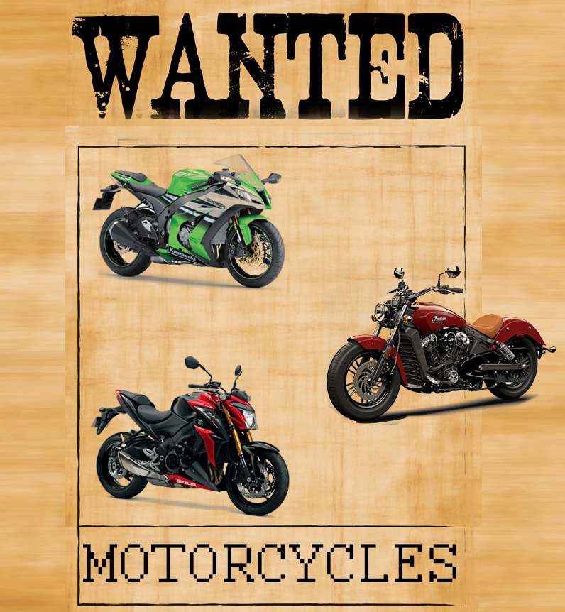 Top Five Most Wanted Motorcycles in the World