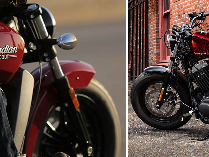 indian-scout-vs-HD-sportster-forty-eight-1