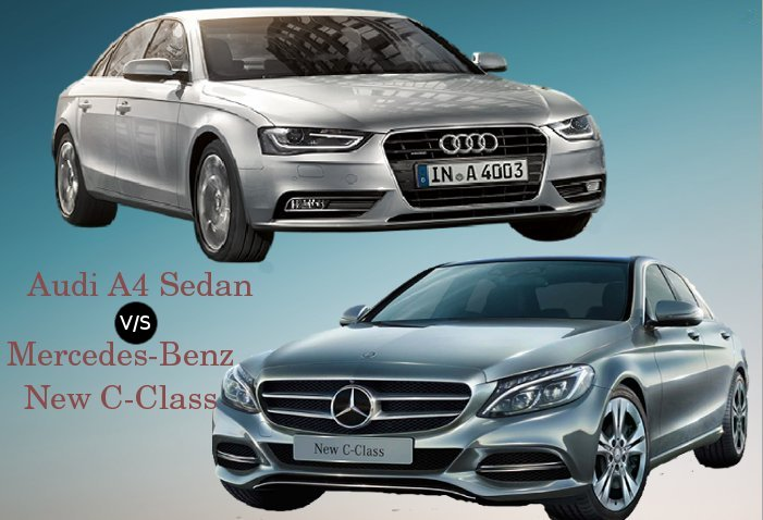 Audi A4 vs Mercedes-Benz new C-Class