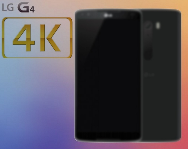 LG G4 with 4K Display