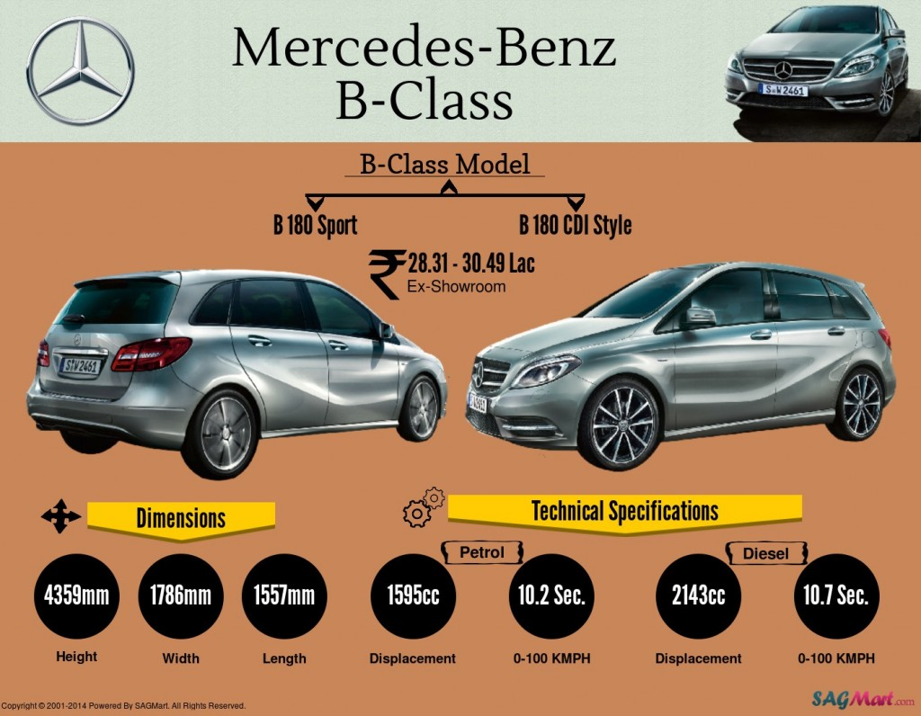 mercedes benz b class luxury car specifications. Black Bedroom Furniture Sets. Home Design Ideas