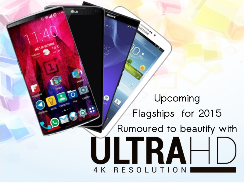 Upcoming smartphones with 4K display 2015