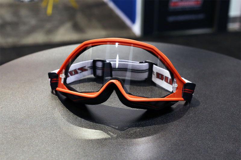visor or goggles