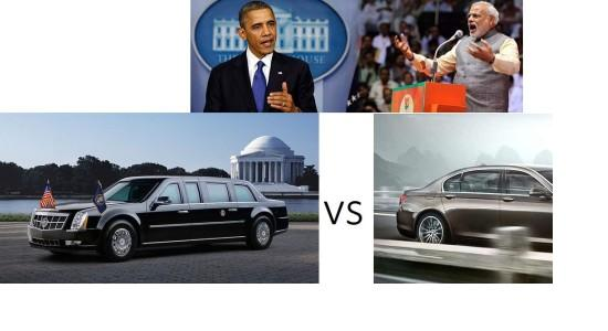 obama_cadillac-limo-vs-modi-bmw