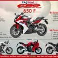 Honda CBR650F Bike