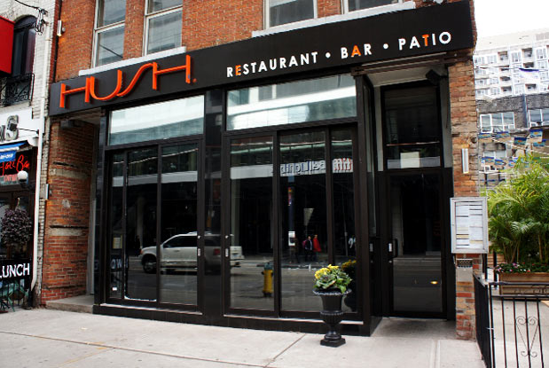 Hush Restaurant Toronto