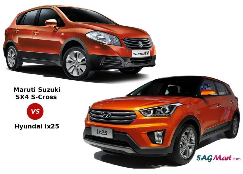 Maruti SX4 S-Cross vs Hyundai ix25