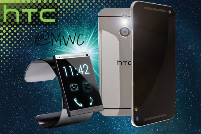 HTC One M9 at MWC 2015