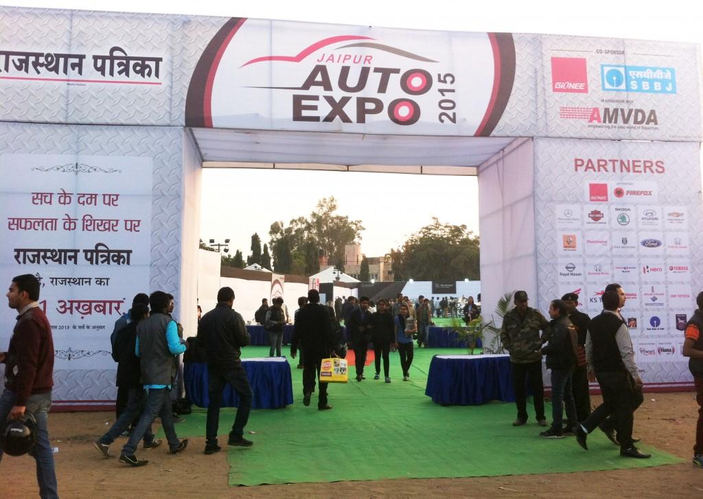 Jaipur Auto Expo 2015