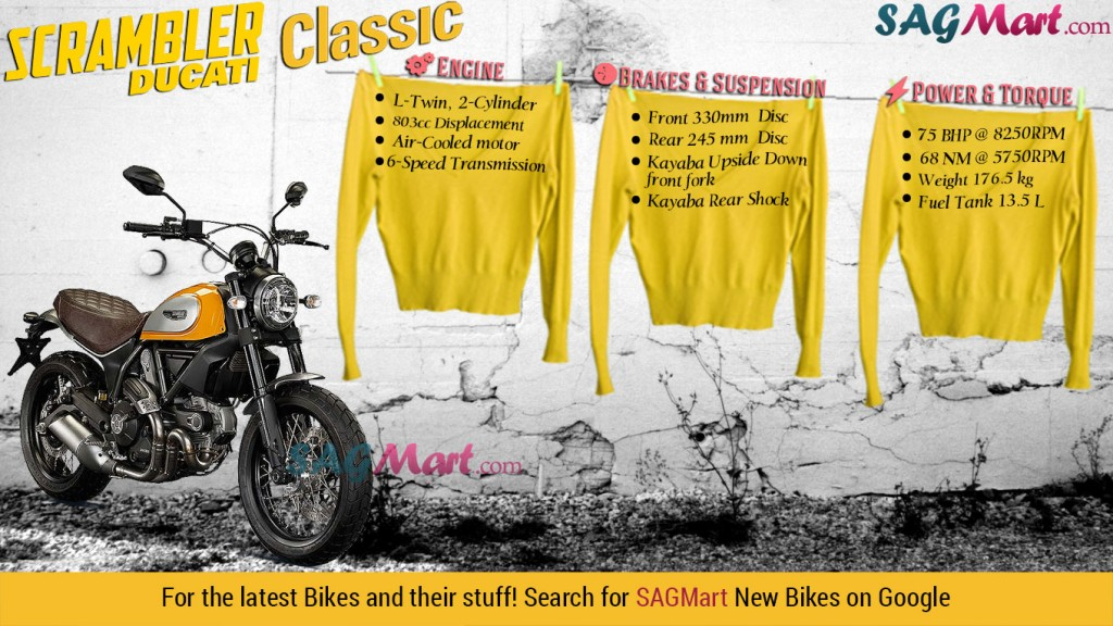 Ducati Scrambler Classic 2015