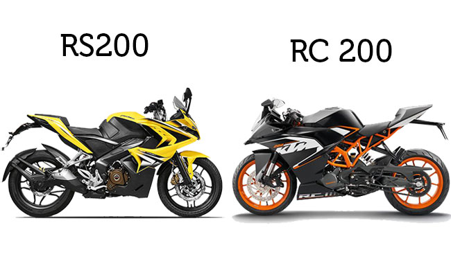 KTM RC 200 vs Pulsar RS200