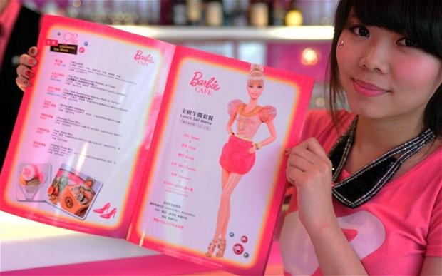 BarbieCafeMenuCard
