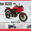 bajaj pulsar as200 bike