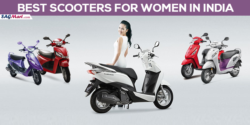 best scooters for women india