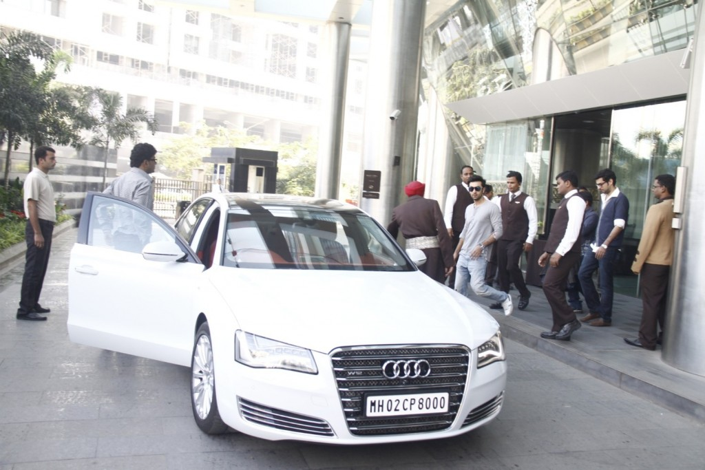 Audi A8 and Ranbir Kapoor