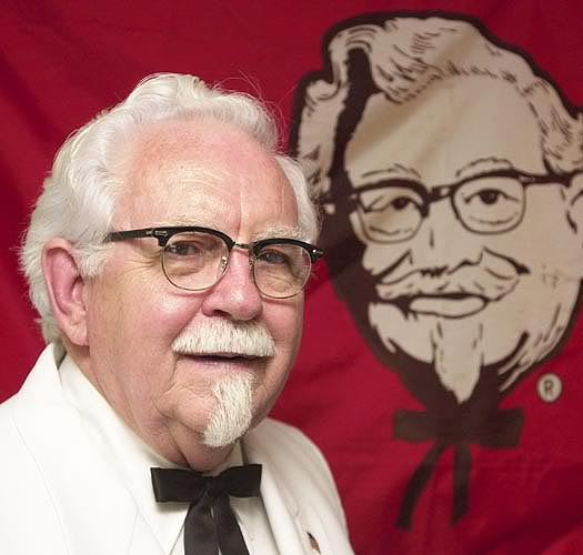 kfc founder Kentucky fried chicken founder col harland sanders ap photo kfc's current  ad campaign stars a cartoonish colonel sanders played by.