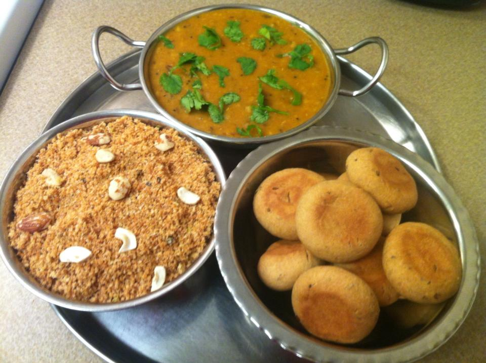 Dal BaatiChurmaRajasthanifood