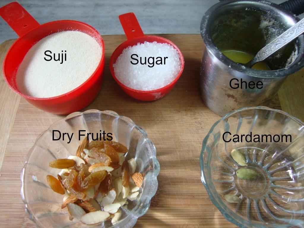 IngredientsforSujiKaHalwa