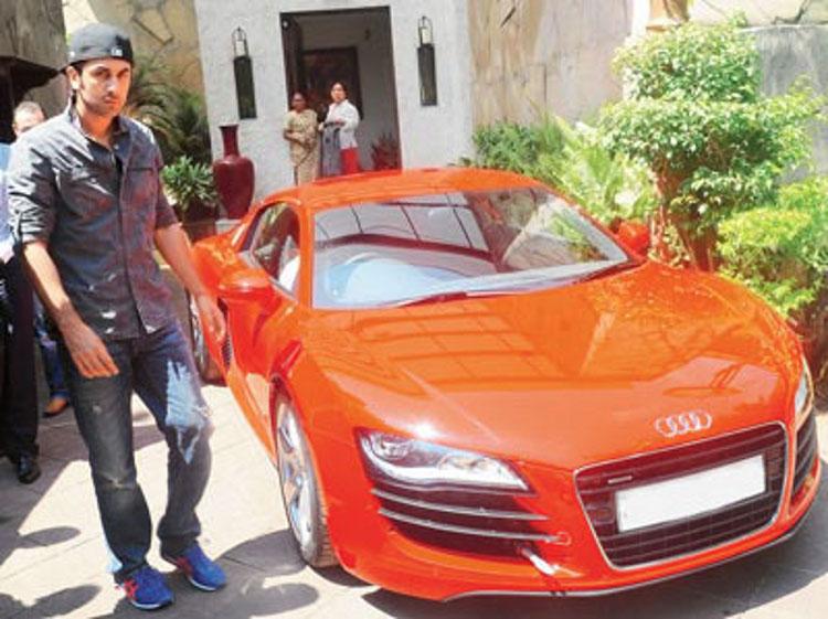 Ranbir Kapoor Audi R8
