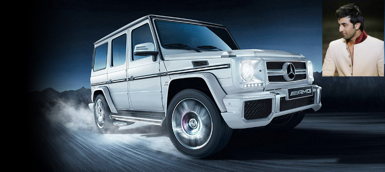 Ranbir Mercedes-Benz G63 AMG