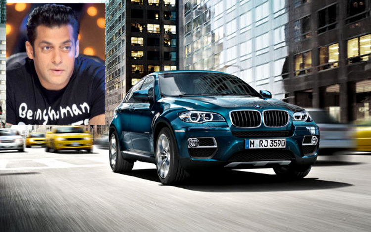 Salman and BMW X6