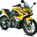 pulsar rs200 yellow color