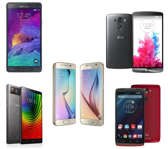 Smartphones with Quad HD Display