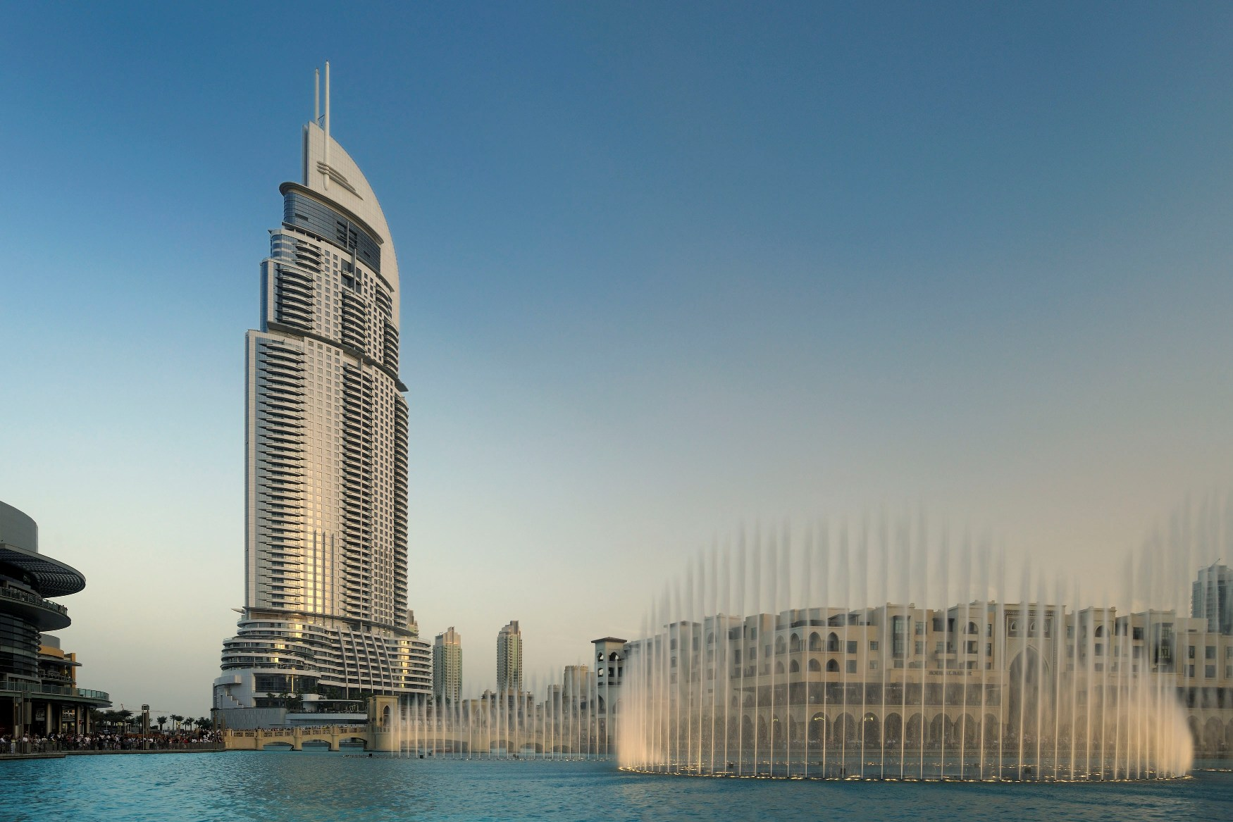 The grand hotels located inside the burj khalifa sagmart for Address hotel dubai