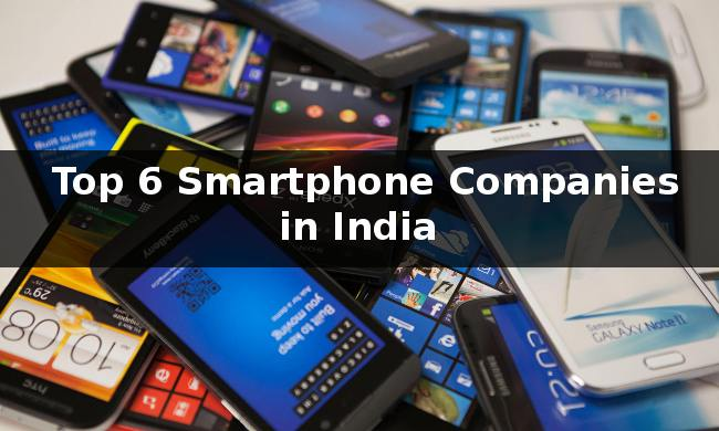 Top 6 Smartphones in India