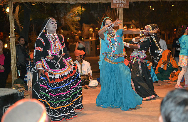 TraditionalDancePerformanceAtChokhiDhani