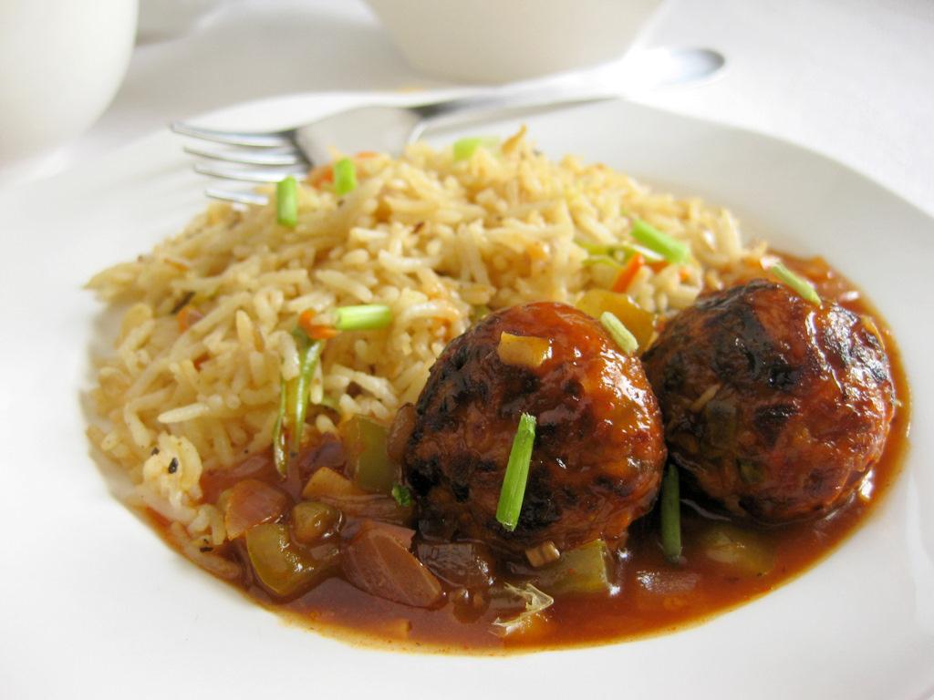 Recipe of Veg Manchurian and Fried Rice | SAGMart