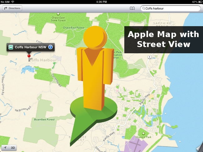 Apple Map Street View