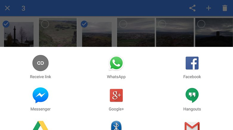 google photos social sharing