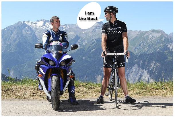 Bicycle VS Motorcycle