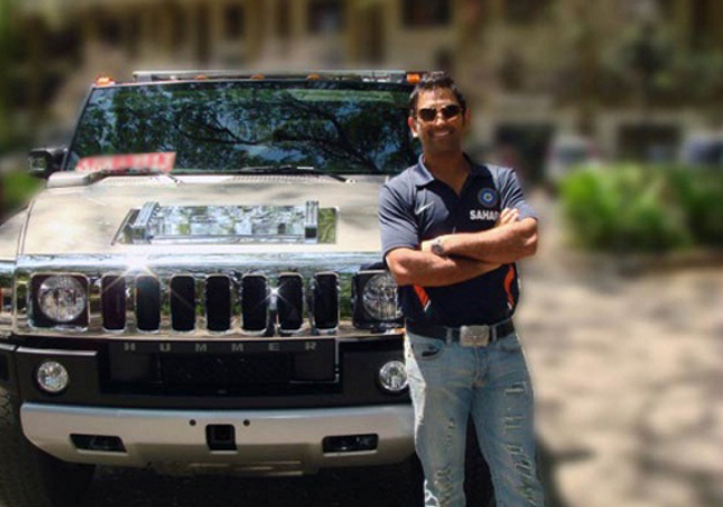Dhoni and Cars