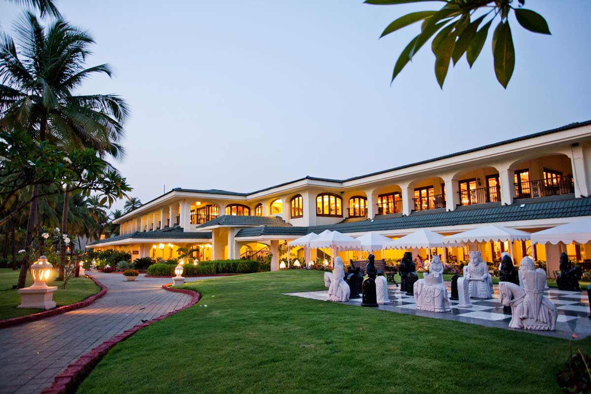 Taj exotica goa the perfect destination for a dream for Contact hotel