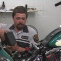 change motorcycle battery