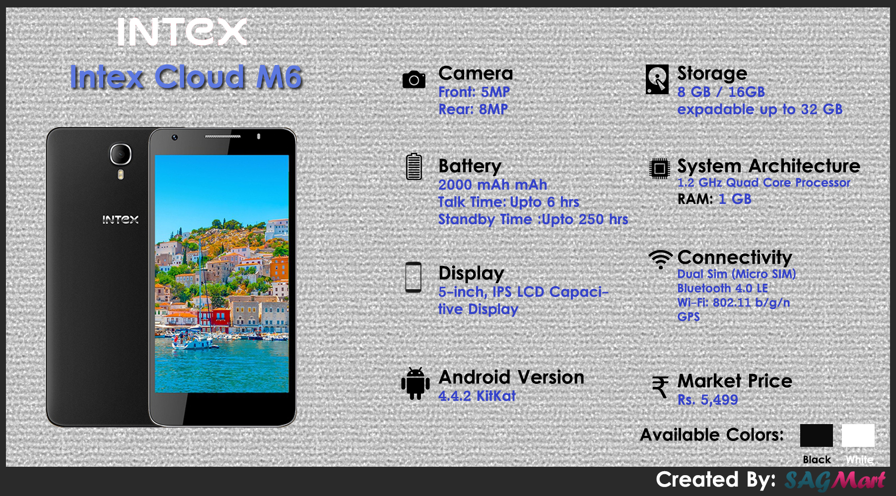 Intex Cloud M6